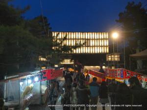 新春の白山神社2012(新潟市中央区)